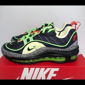 Nike Air Max 98 Halloween Size 7Y CT1171-001